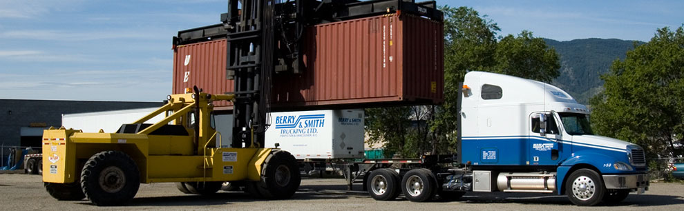 Intermodal, van and flat deck specialists, on-time deliveries