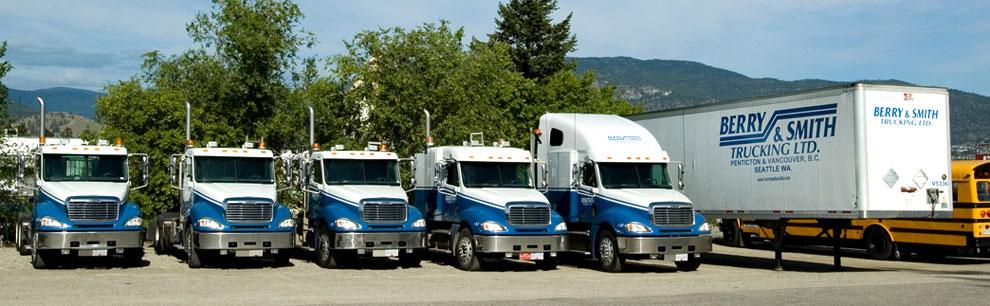 Trucking Jobs Calgary >> Berry Smith Trucking Ltd Penticton Vancouver Calgary